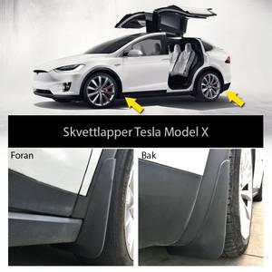 Bilde av Skvettlapper Mud Flaps Tesla Model X