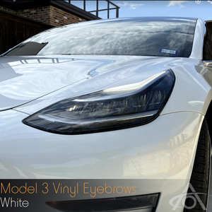 Bilde av Eyebrows Tesla Model 3 & Y