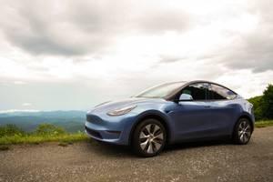 Bilde av Pillar Delete Tesla Model Y